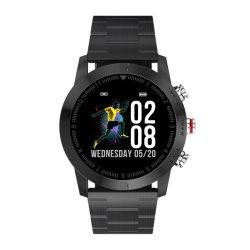 """Dt n° 1 S10 Smartwatch 1.3"""" Round étanches IP68 de l'écran Moniteur de fréquence cardiaque Appel de message de rappel de podomètre boussole chronomètre"""