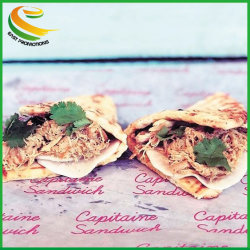 Usine Wholesale Food grade pour le pain de papier sulfurisé d'enrubannage