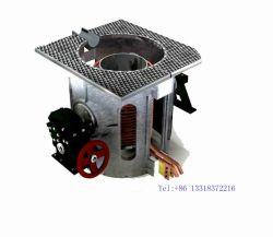 10t Métaux Acier aluminium cuivre de la ferraille Smelting four à induction