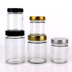 [120مل] عميقة طرف توصيل إلتواء أسطوانة [بنوت بوتّر] مرطبان زجاجيّة [4وز] على عمليّة بيع