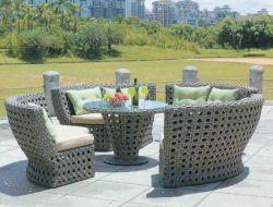 As medulas Mobiliário de Jardim mesas e cadeiras conjuntos para mobiliário de exterior