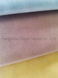 De garen-Geverfte Stof van het Leer van de Stof van de Stoffering van de Polyester van 100% Pu voor de Decoratie van het Meubilair van het Gordijn van de Bank