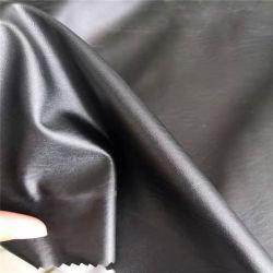 Polyester-strickendes Gewebe mit nachgeahmtem Leder für Kleid-Gewebe