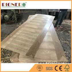 جلد طبيعي من خشب الجوز HDF الباب لسوق أمريكا الجنوبية