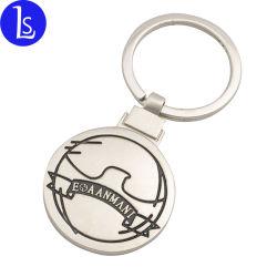 Профессиональный производитель пользовательские индивидуальные металлические цепочки ключей рекламных подарков