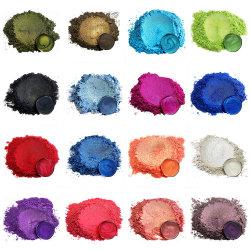 Glimmer-Perlen-Puder für Automobillack, Epoxidharz, Seifen-Farbe, Bad-Bomben-Farbstoff, Fertigkeit-Schlamm, pigmentiert Puder, Titandioxid-Lack-Farbstoff