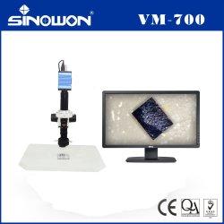 デジタル測定ビデオ受信検査用顕微鏡