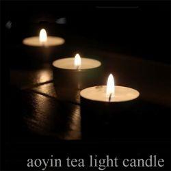 Het in het groot Maken van de Kaars van de Was van het Huwelijk 12g Tealight Gebemerkte