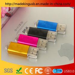 بيع مذهل! شعار وحدة الطباعة بالليزر Free Laser Engraving هو محرك أقراص معدني بأربعة ألوان/شريحة USB من المصنع