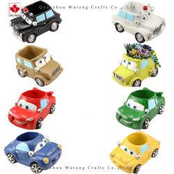 Coche de la resina Maceta Cartoon coche de la Mesa de la planta en maceta de suculentas