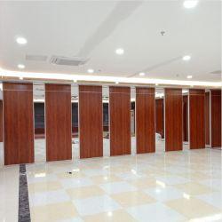 Les plaques de plâtre Partition de pliage de la porte coulissante Composite paroi mobile
