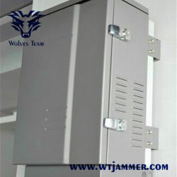 Militaire Richtingsantennes Mobiele Telefoon Signaal Jammer 300w Output Vermogen Waterproof Jammer