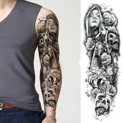 Reticoli differenti duraturi provvisori del manicotto del Mens del braccio degli autoadesivi completi del tatuaggio