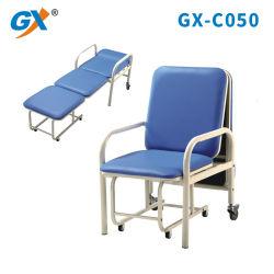 Het Ziekenhuis van het Frame van het staal begeleidt Stoel met pwer-Met een laag bedekt (gx-C050)