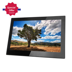La pantalla IPS de 14 pulgadas HD 1080P Digital Photo Frame con HDMI, AV