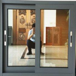 Китай Гуанчжоу большой размер индивидуального алюминиевых опускное стекло окна противомоскитные сетки