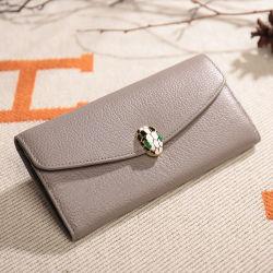 Новый сладкий простые дамы кошелек длинные элегантные сумки из натуральной кожи бумажник Al369