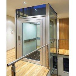 400kg 빌라 중고 사각 유리 홈 엘리베이터