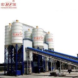 Planta de procesamiento por lotes de maquinaria de construcción de hormigón estampado