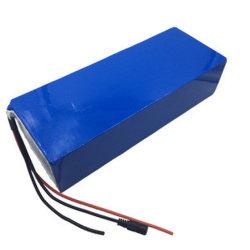 48V 10ah 15ah 20ah hintere Zahnstange E-Fahrrad Lithium-Batterie für 1000W 1500W elektrische Fahrrad-Roller-Speicher-Energie