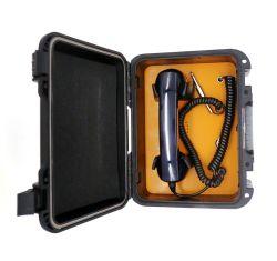 هاتف IP65 من النوع المقاوم للهب، هاتف قوي للسكك الحديدية ومقاوم للماء