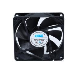 Bobine industrielle 8020 la ventilation du moteur ventilateur de refroidissement ventilateur CC de débit d'air