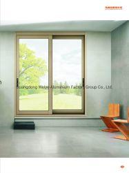 Thermischer Bruch-Entwurfs-Aluminiumschiebetür-Rahmen für Wohn- und Bauvorhaben