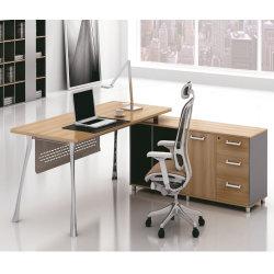 2019 최신 현대 행정실 책상 가구는 낮은 내각으로 놓았다