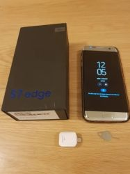Rand-Gold 2019 des Handy-S7 Sm-G935f 32GB Libre Smartphone