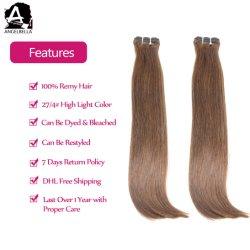 Angelbella Hotsale brutes 100% naturel des cheveux humains dans l'Inde Remy Hair Extensions