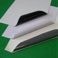 Белый ПВХ на самоклеящаяся виниловая пленка для цифровой печати