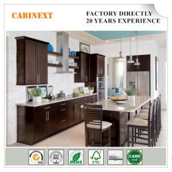 MDF modular moderna cozinha Armário para diferentes opções de cor