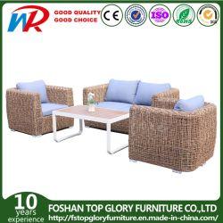 High Quality European Leisure Outdoor Rattan Wicker Garden Sofa met Polywood Table Hotel Home meubilair