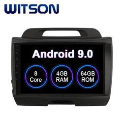 Voiture Witson Android 9.0 Système Multimédia pour KIA 2010-2012 Sportage 4 Go de RAM 64 Go de mémoire Flash grand écran dans la voiture lecteur de DVD
