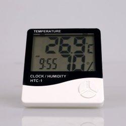 屋内および屋外の携帯用湿度計