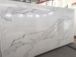Granito e mármore//laje de pedra de quartzo artificial para a bancada de cozinha/Mesa/Banho vaidade/Dissipador/superfície sólida
