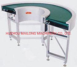 나사 ISO 장백의 300 회전 망원경 벨트 강철 롤러 컨베이어를 판매하는 중국 공장 고품질