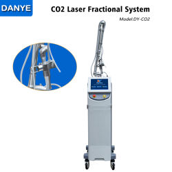 Professionele chirurgische CO2-fractionele laser huid herrijzen / Scar verwijderen schoonheid Machine/verticale CO2-behandeling Fractioneel laserapparaat/veterinaire laserapparatuur