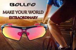 De nieuwe Zonnebril van Sporten, Kleurrijke Gepolariseerde OpenluchtSporten, de Levering voor doorverkoop van Fabrikanten