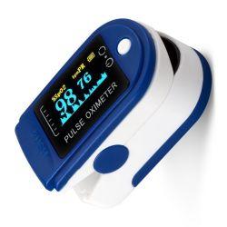 Afficheur OLED doigt oxymètre de pouls oxymètre Fingertip entendre taux et le moniteur de SpO2 d'oxygène du sang