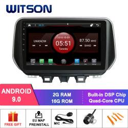 Witson Android 9.0 Car Авто радио DVD GPS для Hyundai Tucson IX35 2018 DVD плеер