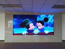 P2.5, P3, P3.91, P4, bekanntmachende farbenreiche Bildschirmanzeige-videoinnenwand LED-P4.81 mit Höhe erneuern Kinetik