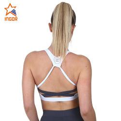 Commerce de gros Dernière mode Mesdames Yoga femmes Soutien-gorge de sport d'usure