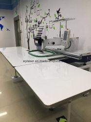 Única Cabeça Plana Misto informatizada máquina de bordado têxteis