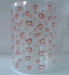 El tubo de plástico personalizadas embalaje con la impresión (regalo de Navidad Caja).