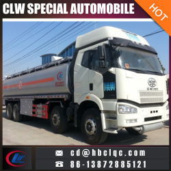 FAW 8X4 30mt 38000L Road Tank Vehicle Oil Tank Car