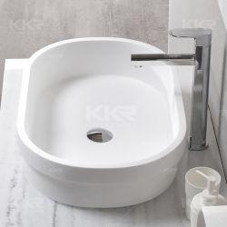 Surface solide Navire de comptoir lavabo et une salle de bains d'unités de courtoisie