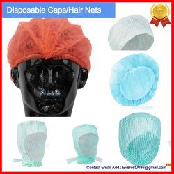 Le traitement des non-tissé en polypropylène/jetable de capot/cheveux/Medical Scrub/bande/Snood/Clip/plissé mop/médecin/infirmière/le chirurgien bouffant Mop capuchon, capuchon Mob jetables