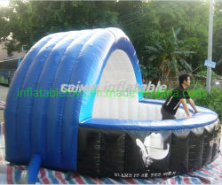 Contador de promocionales inflables Stand/venta/Barra inflable