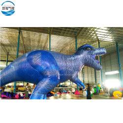 주문을 받아서 만들어진 16FT 옥스포드 섬유 거대하 팽창식 공룡 모형